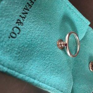 Tiffany & Co. Garnet stacking ring